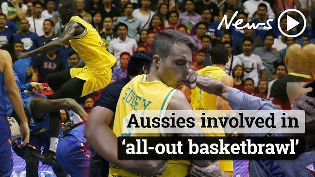 Australia Vs Philippines Basketball Brawl Charges Must Be