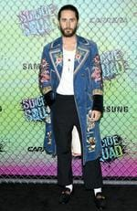 Jared Leto attends the Suicide Squad world premiere on August 1, 2016 in New York City. Picture: AP