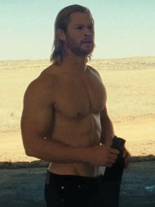 Chris Hemsworth in a scene from Thor.