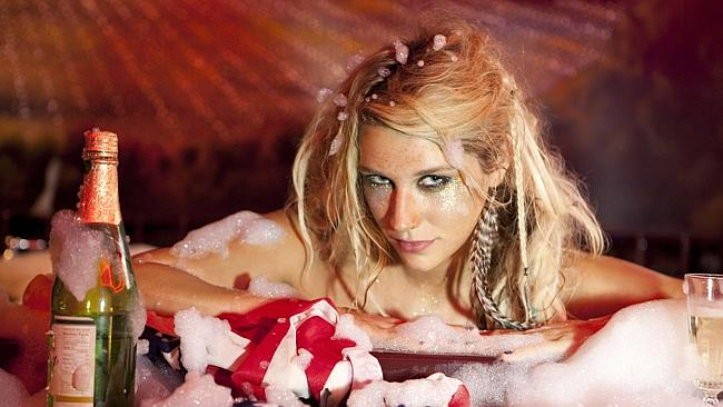Singer Ke$ha early in her career Picture: Sony Music.