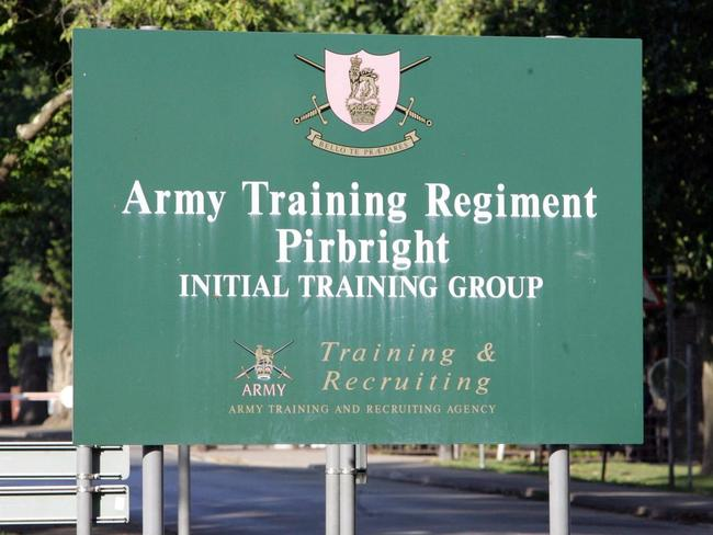 The attacks allegedly happened at the Pirbright Army Training Centre in Surrey. Picture: Tim Ockenden/PA.