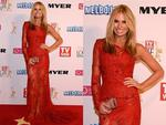 Sonia Kruger during the Red Carpet Arrivals ahead of the 56th TV Week Logie Awards 2014 held at Crown Casino on Sunday, April 27, 2014 in Melbourne, Australia. Picture: Jason Edwards