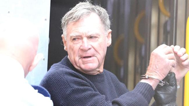 Ian Turnbull is now 81, and will die in jail after being found guilty of murder. Picture: John Grainger