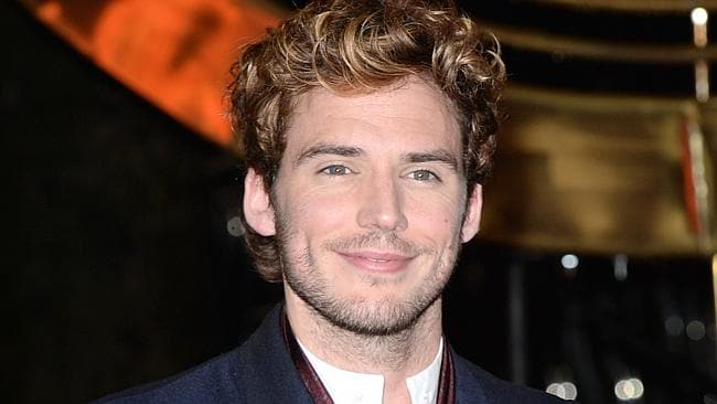 "Sam Claflin attends the UK Premiere of ""The Hunger Games: Catching Fire"" at Odeon Leicester Square in London, England. Picture: Getty"
