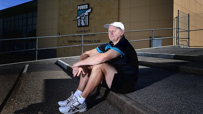 Port Adelaide coach Ken Hinkley. Picture: Sarah Reed
