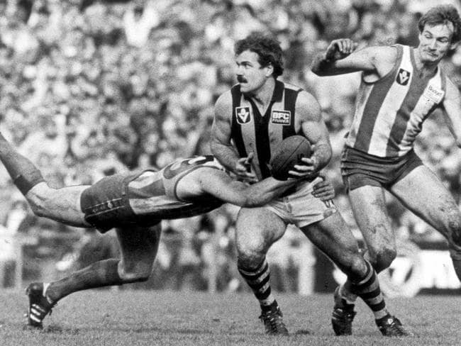 Leigh Matthews in action in 1982.
