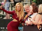 Havana Brown takes a selfie with fans ahead of the 29th Annual ARIA Awards 2015 at The Star on November 26, 2015 in Sydney, Australia. Picture: Mark Metcalfe/Getty Images
