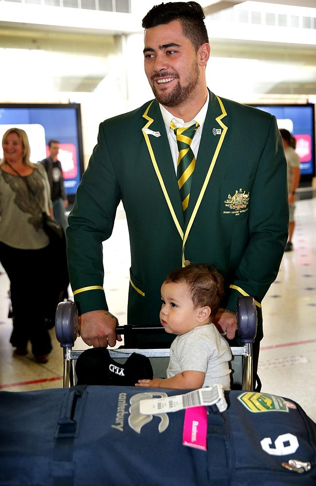 It's the Sharks who enabled Fifita to wear Australian colours. Picture: Gregg Porteous