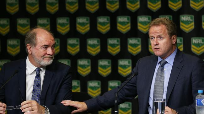 Dave Smith quits John Grant gave NRL chief executive no