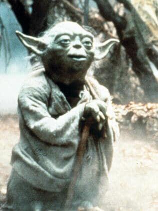 Yoda who was played by Frank Oz.