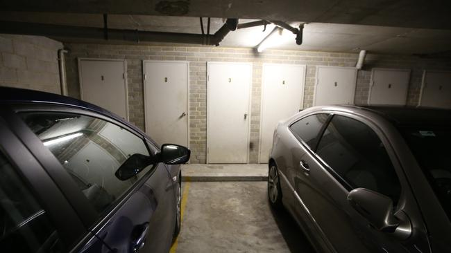 Lisa's carpark and storage space net her thousands each year. Picture: Bob Barker