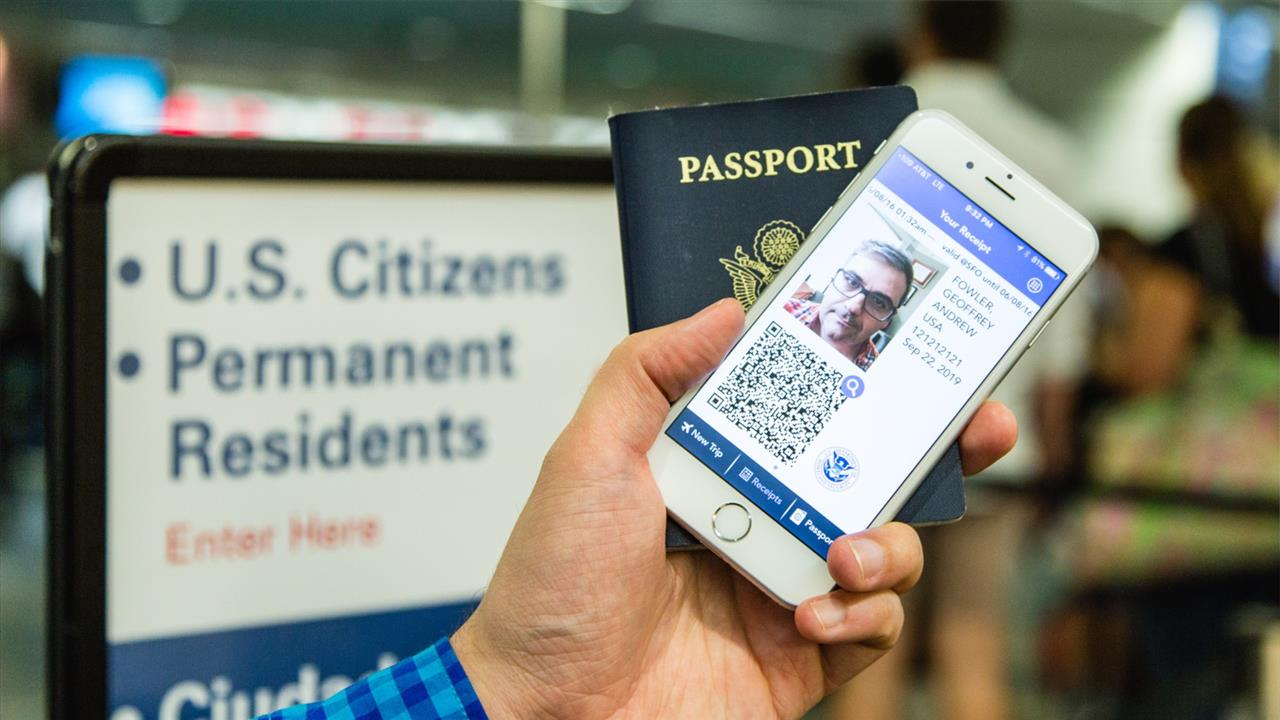 Wsj's Geoffrey A Fowler Shows You How To Skip The Long Border Control Line  With The Mobile Passport App