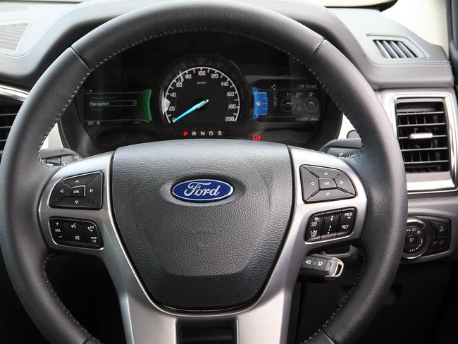 This steering wheel will alert you if you go out of your lane.