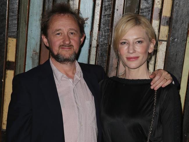 Cate Blanchett with husband Andrew Upton.