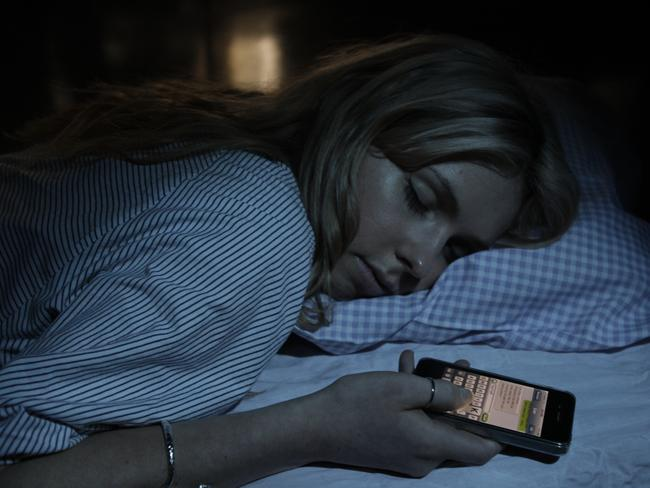 Sleep texting ... ever fallen asleep with your phone in bed?
