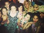 COACHELLA 2014: American singer Katy Perry pictured with british singers Ellie Goulding and Rita Ora. Picture: Instagram