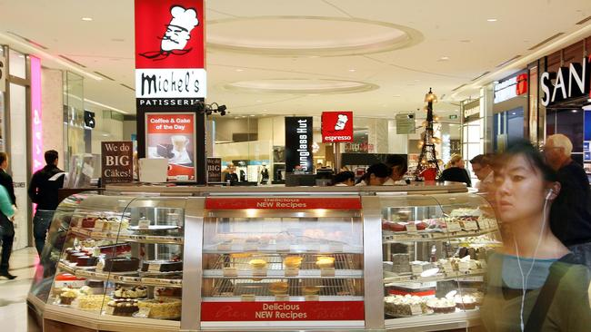 Michel's Patisserie has been part of the Australian food court furniture for more than two decades.