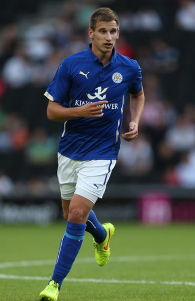 Leicester new boy Marc Albrighton.