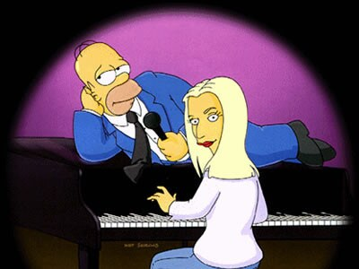 Style over substance? Picture: Fox/The Simpsons