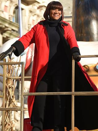 Singer Patti LaBelle takes part in the 91st Annual Macy's Thanksgiving Day Parade. Picture: Getty
