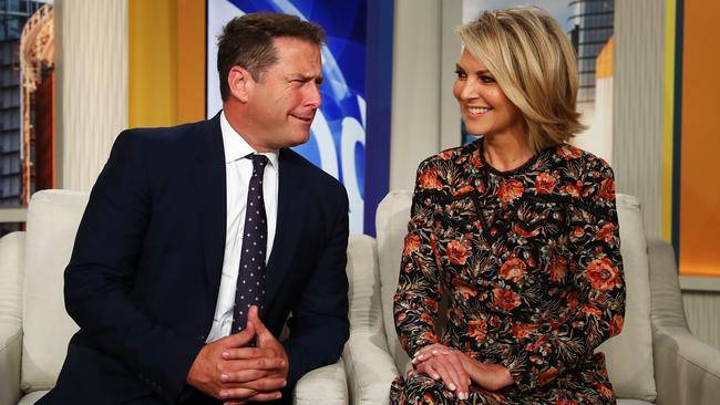 It's no secret Today co-hosts Georgie Gardner and Karl Stefanovic have a tense relationship. Picture: John Feder