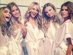 """Victoria's Secret Fashion Show 2013: Angel Magdalena Frackowiak posts, """"With my beautiful girls."""" Picture: Instagram"""