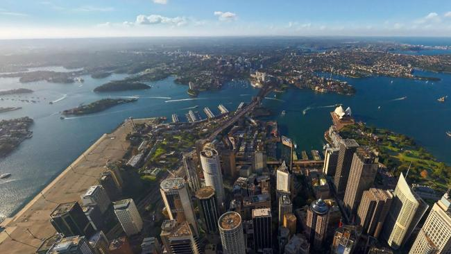 Amazing Interactive Aerial Views Of Australias Biggest Cities - Incredible 360 degree aerial photography by andrew griffiths