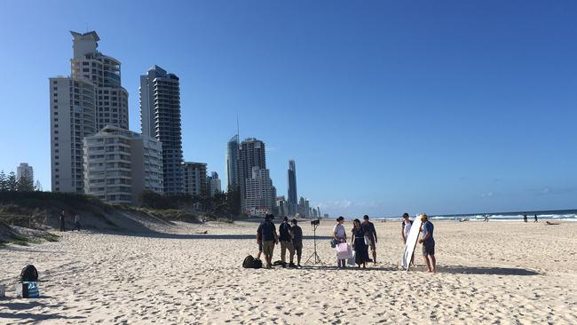 Stunner ... The Gold Coast's Main Beach provides one of the backdrops for the new TA campaign. Picture: Tourism Australia. Picture: Supplied.