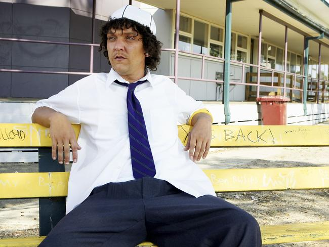 Australian comedy classic ... Actor Chris Lilley as Jonah in Summer Heights High.