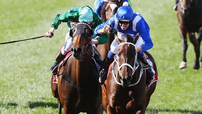 Damien Oliver out of Melbourne Cup after losing appeal against suspension