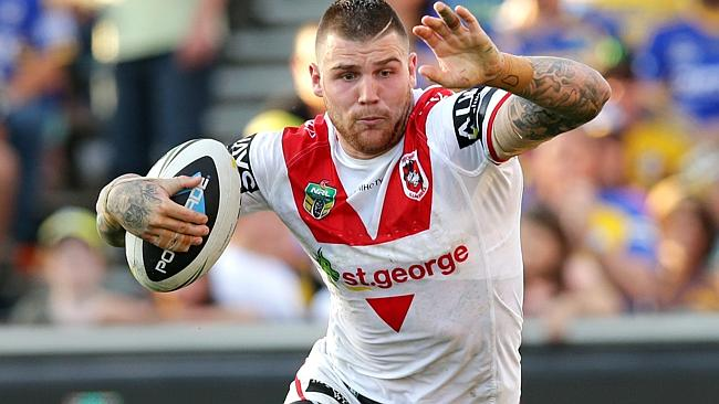 Josh Dugan is in the frame for a return to Origin. .Picture Gregg Porteous