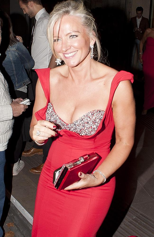 Michelle Mone in London after the Pride of Britain awards in October.