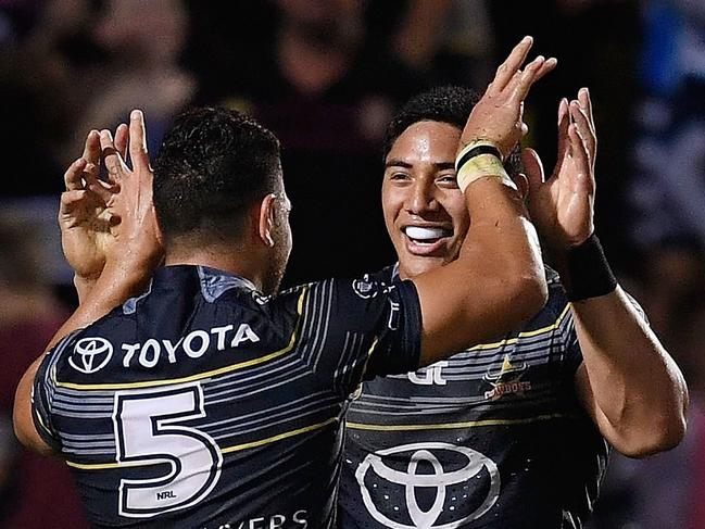 Taumalolo stars as Cowboys survive Manly scare