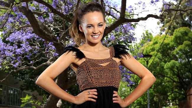 X Factor winner Samantha Jade has gone straight to number one on iTunes chart. Picture: Tim Hunter
