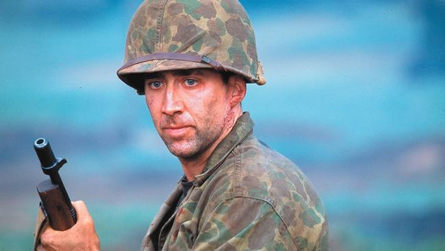 Nicolas Cage blew up his credibility in Windtalkers.