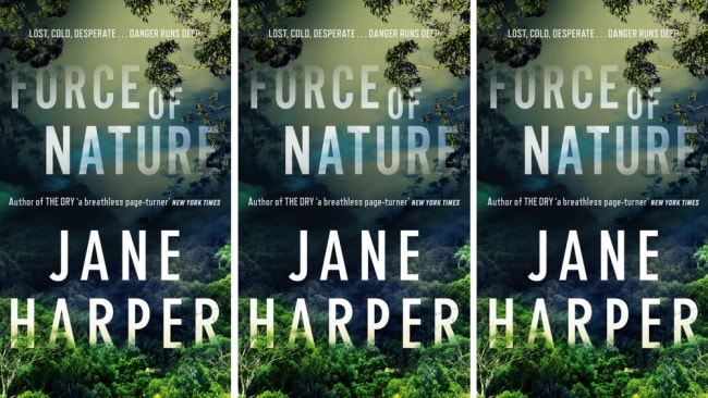 'Force of Nature', Jane Harper's second novel, is out today. Photo: Pan Macmillan