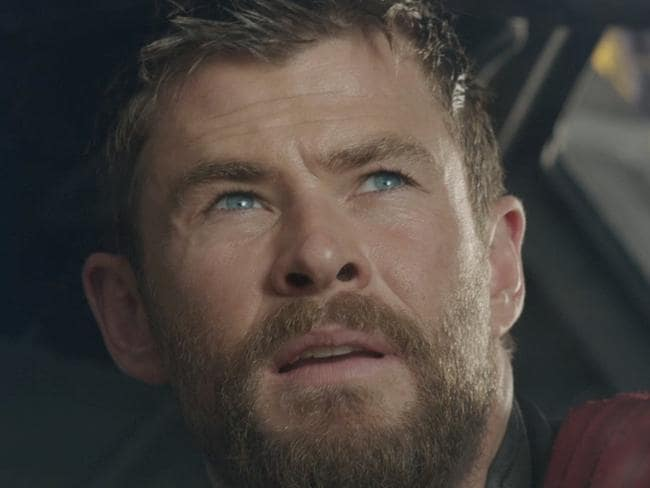 Chris Hemsworth.  Screen grabs from the Thor film. Source: Supplied.