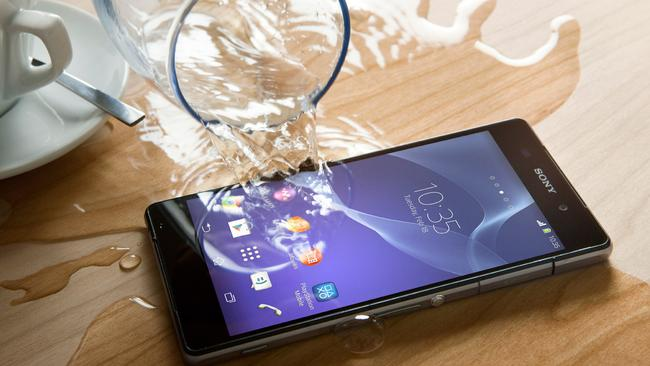 Having a waterproof phone is much more handy than you think.