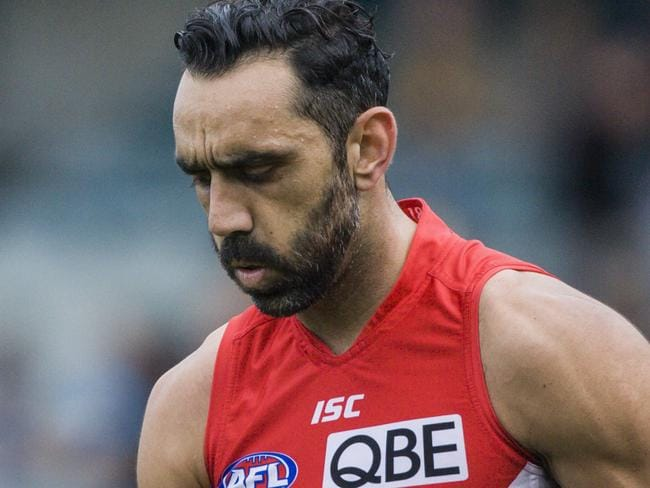 Adam Goodes is said to be considering retirement.