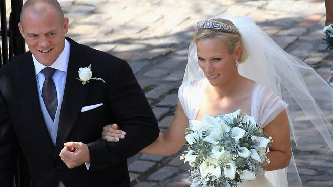 Mike Tindall and Zara Philips were married in Edinburgh.