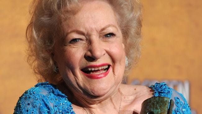 Betty White is 96 years old.