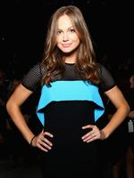 Ksenija Lukich attends the By Johnny show at Mercedes-Benz Fashion Week Australia 2015 at Carriageworks on April 13, 2015 in Sydney, Australia. Picture: Getty
