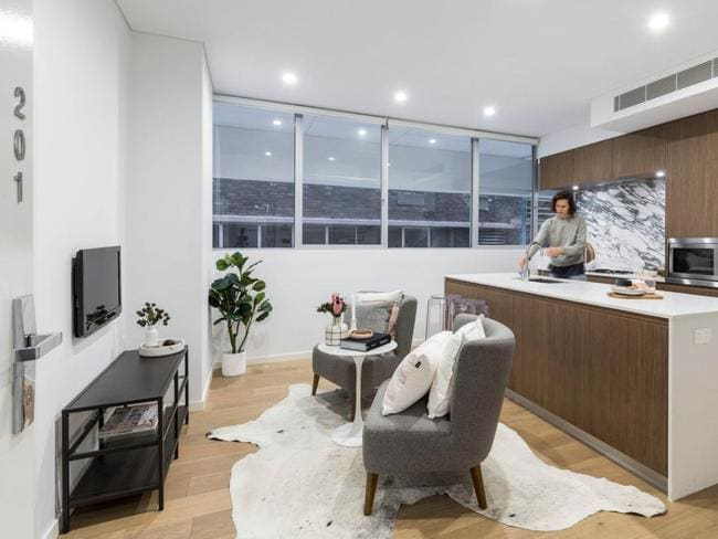 It's all about location in this tiny inner city Sydney apartment, which is on the market for $620,000.