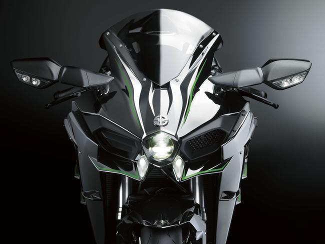Unphased ... insurers don't mind the Ninja H2 has almost as much power as a Volkswagen Golf GTI hot hatch. Picture: Supplied