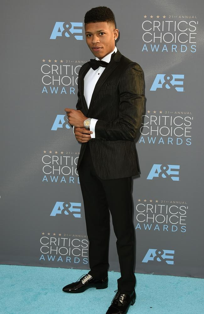 Bryshere Y. Gray attends the 21st Annual Critics' Choice Awards on January 17, 2016 in California. Picture: AP