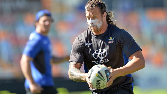 Ashton Sims is in excellent form for the Cowboys. Pic: Wesley Monts
