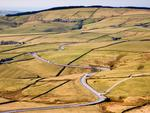 View of the A537 from Shining Tor in the Peak District in Cheshire. Picture: Alamy