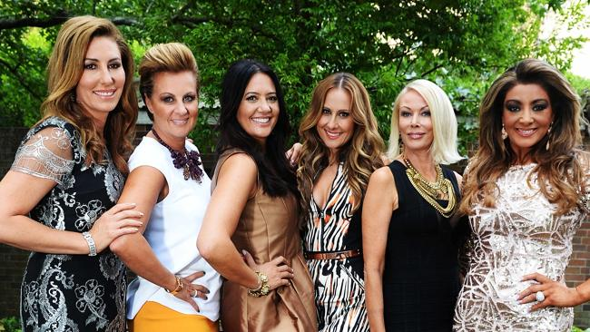 TOORAK STYLE: The Real Housewives of Melbourne Andrea Moss, Chyka Keebaugh, Lydia Schiavello, Jackie Gillies, Janet Roach and Gina Liano.