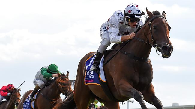 Sunlight showed her quality with a dominant win in the Magic Millions Classic.