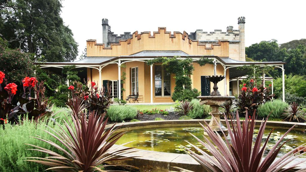 Vaucluse House, the 19th-century Gothic Revival-style mansion built by the  Wentworth